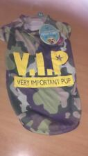 Pet Puppy Dog Doggy T-Shirt VIP Camouflage Dressing Up Medium New
