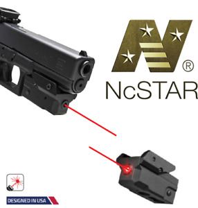 Red Laser Pistol Strobe Fits Smith & Wesson Glock Picatinny Weaver Rail Compact