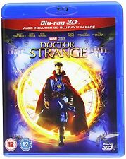 Marvel's Doctor Strange 3D Blu-Ray 3D + 2D BRAND NEW Free Ship