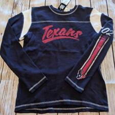 LZ NFL Reebok Women s Medium Houston Texans Long Sleeve T-Shirt Shirt NEW  R35 a69a9a009