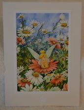 "The Art of Disney Them Parks Post Card - ""Summer Daze"" w/ Tinker Bell"