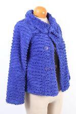 PATAGONIA Purple Fleece Outdoor Blazer Jacket Youth Girls Size 12 Large