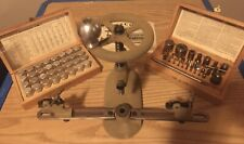 Vintage Bergeon Clockmakers Bushing Tool with Accessories
