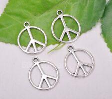 20pcs Tibetan silver charm peace necklace pendant 20x17mm A3108