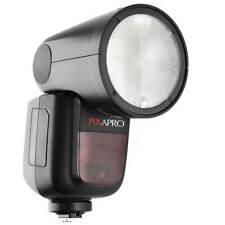Round-Head TTL Speedlite Canon High Speed Sync Battery Powered V1 Lighting Light