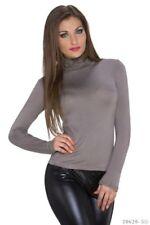 Camisas y tops de mujer de manga larga de viscosa/rayón talla M