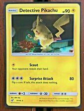 Pokemon Card   DETECTIVE PIKACHU   HOLO RARE 10/18  DETECTIVE PIKACHU  **MINT**