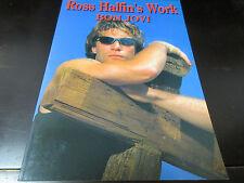 Ross Halfin's Work Bon Jovi Japan Photo Book in 1996 John Richie Sambora