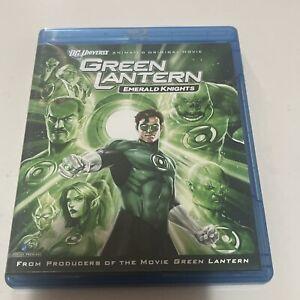 RARE! Green Lantern Emerald Knights DVD Region B (AUS) Movie Blu Ray Animated