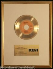 Elvis Presley You Don't Have To Say You Love Me 45 Gold Non RIAA Record Award