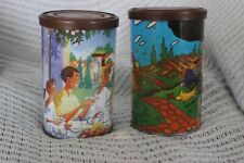 Ricore 98 and P.Wattez Ricore 98 Tea Tin Canister