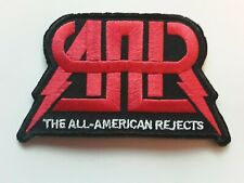 THE ALL AMERICAN REJECTS PUNK POP HEAVY ROCK BAND EMBROIDERED PATCH UK SELLER