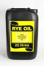 TWO STROKE OIL SEMI SYNTHETIC  25 LITRE 25L (NOT 20L) (JASO:FD, API: TC)