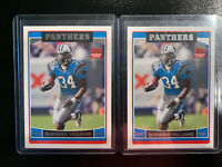 Deangelo Williams Rookie Cards Carolina Panthers 2x 2006 Topps (Shipped PWE)