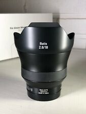Zeiss Batis 18mm f/2.8 Ultrawide Lens w/ box