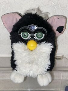 FURBY TOY ORIGINAL VINTAGE 1998 Black & White INTERACTIVE Fully Working