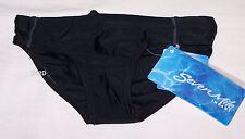 Seven Mile Boys Black Shark Print Racer Brief Bathers Size 00 New
