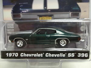 Greenlight 1970 CHEVY CHEVELLE SS 396 Green '70 w/RR Hollywood JOHN WICK