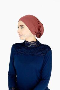 Under Scarf Bonnet/Hijab - Tube Style - Cotton/Polyester Blend