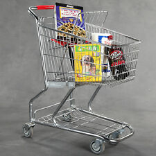 New Extra Tough Steel Quality Grocery Shopping Carts Sold in 3 Quantity