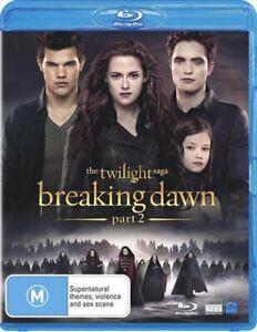 The Twilight Saga - Breaking Dawn - Part 2 Blu-ray