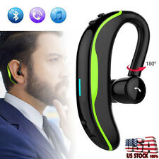 New listing Bluetooth Earphone Handsfree Call Headset with Mic for iPhone Samsung S10 S9 S8+