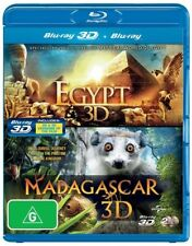 Egypt / Madagascar (Blu-ray, 2-Disc Set) BARGAIN PRICE 2 MOVIES. NEW IN WRAPPER