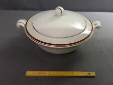 1ancienne Sopera cerámica Francia art deco 1950 french antigua
