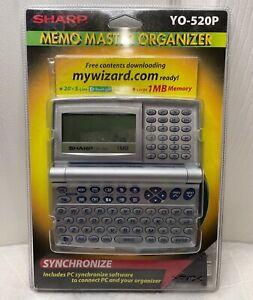 NEW SEALED Sharp YO-520P 1MB Electronic Synchronize Memo Master Organizer PC