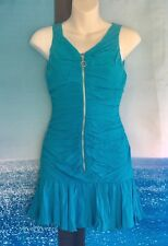 New With Tag Girl's Dress By LaRok, Size L ( 12y), Turquoise Blue