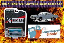 Greenlight Hollywood A-Team 1967 Chevrolet Impala Sedan - Auto - 1:64 Chevy RAW