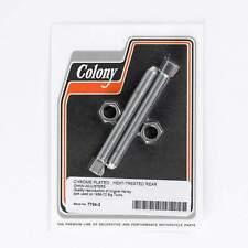 Colony #7704-2 Rear Chain Adjusters - Big Twins 1936 - 72 - Chrome USA made
