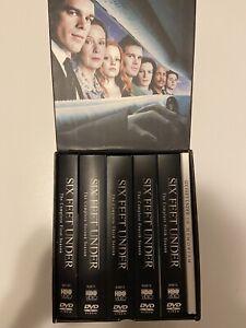 Six Feet Under: The Complete Series (DVD, 2006, 24-Disc Set)