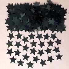 étoile noire table CONFETTI Sprinkle Décorations de mariage fête d'anniversaire