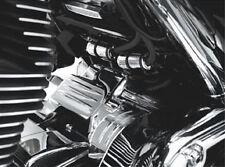 Harley FLHTCU Ultra Classic 2009-2014 Starter Mount Cover Chrome by Kuryakyn