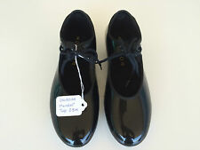 Dance Tap Shoes by Mondor Black Girls Size 2.5M with low heel