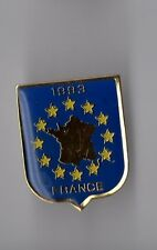 Pin's blason Europe 1993 - France (époxy)