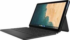 "Lenovo Chromebook Duet 10.1"", Tablet, 128GB  w/ Keyboard - Ice Blue + IRON GRAY"
