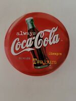 Collector Tin, Vintage with Candle, Red, Coca Cola Candle