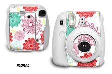 Custom Skin Sticker Wrap Decal For Fujifilm Instax Mini 8 Instant Camera FLORAL