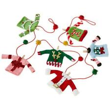 NEW Raz 6' Ugly Sweater Christmas Tree Garland G3920002