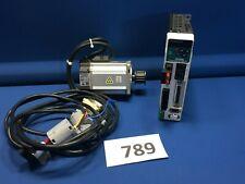 PANASONIC MADDT1207003 AC DRIVE & MHMD022P1U MOTOR 1.6A 200W