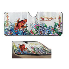 New Ed Hardy Koi Automotive Universal Fit Front Windshield Sun Shade Standard Sz