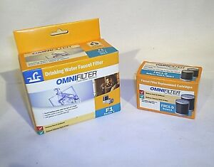 Faucet Filter Drinking Water Omni F1 Series A With 2 New Filters