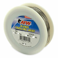 American Fishing Wire Monel Trolling Wire (Single Strand) 30LB 300'