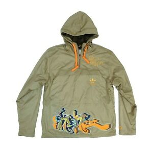Adidas End to End Skore Hooded Jacket Windbreaker Size S Small UK