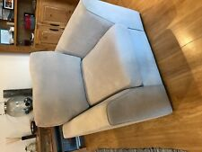 3 seater sofa and chair with footstool