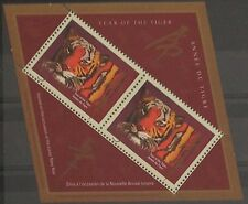 "1998 Canada stamp ""Year of Tiger"" sheetlet overprint 35pcs"