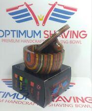 Premium Handcrafted Wooden Shaving mug Bowl