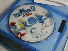 3D Movie Blu Ray SMURFS 2  3D DISC ONLY